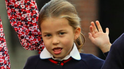 Princess Charlotte heads off to first day of kindergarten