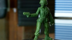 6-year-old gets toymaker to create female army figurines