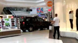 Man drives SUV through mall, sending shoppers scrambling