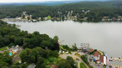 Lake Hopatcong in New Jersey reveals signs of climate change