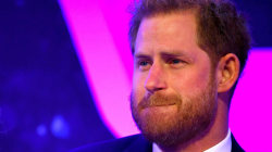 WATCH: Prince Harry gets emotional as he talks about parenthood