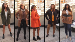 Watch 5 women try on a bestselling fall sweater with a 4.6-star rating