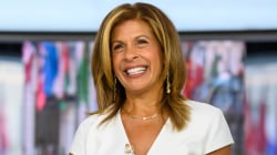Elementary schoolers read inspiring quotes from Hoda's new book