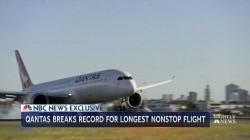 Qantas completes record-breaking 19-hour marathon flight