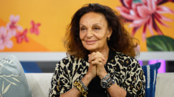 Diane von Furstenberg makes a surprise visit to TODAY
