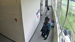 Coach disarms student, then hugs him: Caught on camera