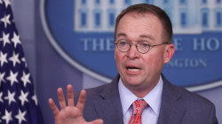 Mulvaney walks back claim that Trump held Ukraine aid for political gain