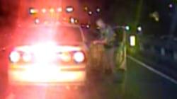 Officer pulls over speeding car, delivers passenger's baby