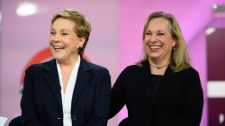 Julie Andrews and her daughter on writing 'Home Work' memoir