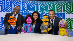 See the 3rd hour of TODAY anchors as Sesame Street Muppets