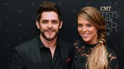 Thomas Rhett shares sweet anniversary message for pregnant wife