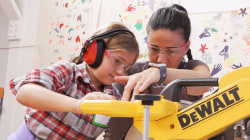 Girls Garage teaches young girls how to use power tools