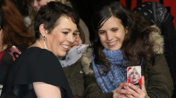 Screaming fans greet 'The Crown' stars at Season 3 premiere