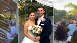 Thief steals thousands from couple during wedding reception