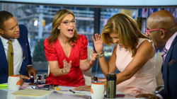Watch Hoda Kotb shock Savannah Guthrie and TODAY anchors with surprise engagement announce