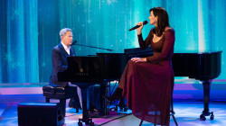 David Foster and Katharine McPhee-Foster perform 'Something to Shout About'