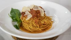 Lidia Bastianich shares classic Italian recipes for short ribs and pasta alla chitarra