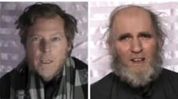 Taliban says it has released 2 prisoners, including an American