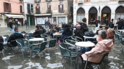 Venice is still flooded, but waters are expected to recede soon