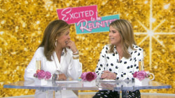She's back! Jenna Bush Hager reunites with Hoda Kotb after maternity leave