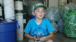Boy is on a mission to save the environment through recycling