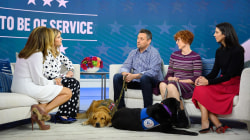 2 veterans share the importance of their service dogs