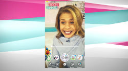 Hoda and Jenna share a laugh over Snapchat's young-to-old filter