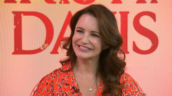 Kristin Davis talks about her new movie, 'Holiday In the Wild'