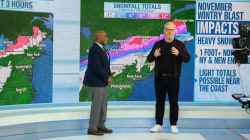 Jim Gaffigan delivers the forecast on the 3rd hour of TODAY