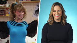 'Full House' star Andrea Barber reacts to her best moments as Kimmy Gibbler