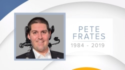 Pete Frates, who inspired the ice bucket challenge, dies at 34