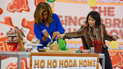 Hoda and Jenna face off in gingerbread decorating showdown