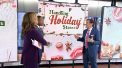 Dr. Oz has tips for holiday stress (like keeping peace with your family)
