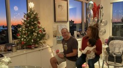 See sweet videos of Hoda and her family lighting their Christmas tree
