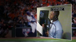 Craig Melvin takes part in World Series documentary