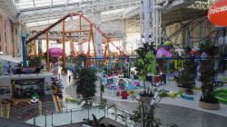 Visit the Dream Mall where you can ski on real snow as well as shop
