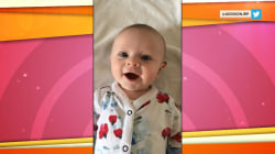 Watch this baby hear her mother's voice for the first time