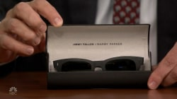 Jimmy Fallon reveals 'Spinnies' sunglasses with Warby Parker