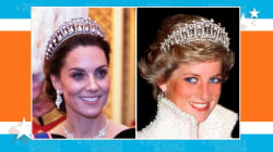 Kate Middleton stuns wearing tiara once owned by Princess Diana