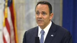 Former Kentucky Gov. Matt Bevin under fire for last-minute pardons
