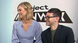 Christian Siriano and Karlie Kloss discuss 'Project Runway'