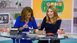 Hoda and Jenna try salmon-flavored candy and more