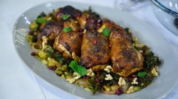 Clean eating: Make Seamus Mullen's sheet-pan roast chicken