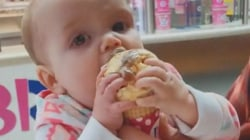 Baby lunges for ice cream after first taste, and more Highs and Lows