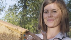 This ex-CIA operative quit her job to become a beekeeper