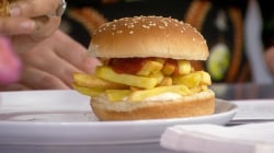 Hoda and Jenna try Burger King-inspired french fry sandwich