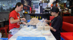 Cook fulfills mom's dumpling dream by bringing recipe to the masses