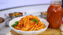 Make easy tomato sauce, penne alla vodka for Make Ahead Monday