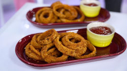 Make Joy Bauer's healthier onion rings, tortilla soup, brownies