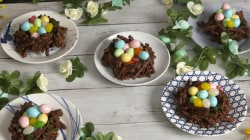 Celebrate spring with delicious chocolate-pretzel nests